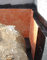 Waterproofing By The Drying Co Thermaltec Wall